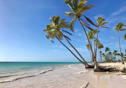 is it possible to swim at punta cana beaches?